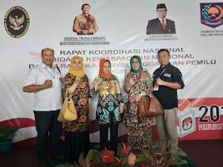 Walikota Mojokerto Hadiri Rakornas Pemantapan Penyelenggaraan Pemilu 2019