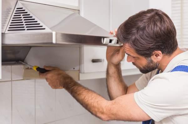 cara mengatasi masalah - kerusakan pada cooker hood