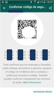 Paso 3 Cifrar WhatsApp