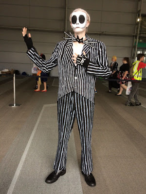 Nightmare Before Christmas Jack Skellington Cosplay