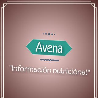 avena informacion nutricional nutrientes benficios ventajas propiedades