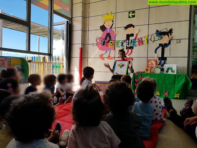 La Escuela Infantil de Los Llanos implanta un novedoso programa de animación a la lectura para bebés