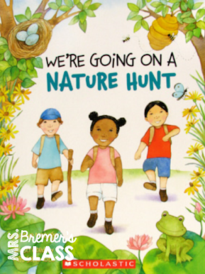 FREE Signs of Spring outdoor scavenger hunt- take learning outside!