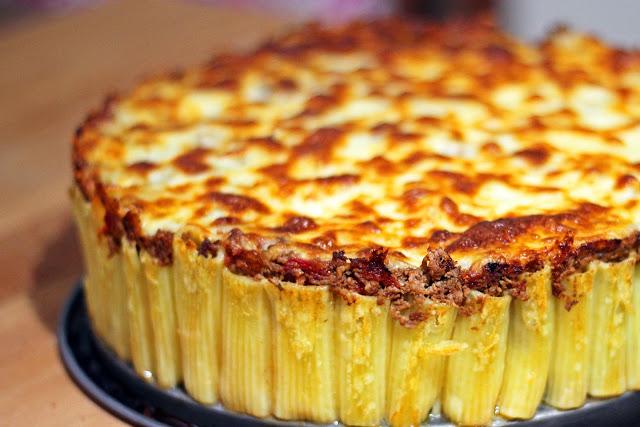 Παστίτσιο-κέικ με Ριγκατόνι