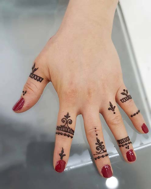 77 Simple Henna Mehndi Tutorials Designs 2019 That Are Easy To Draw