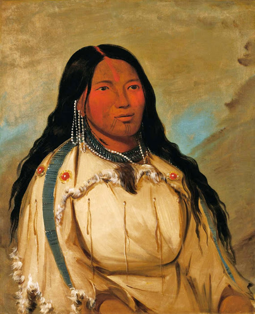 Native american lady