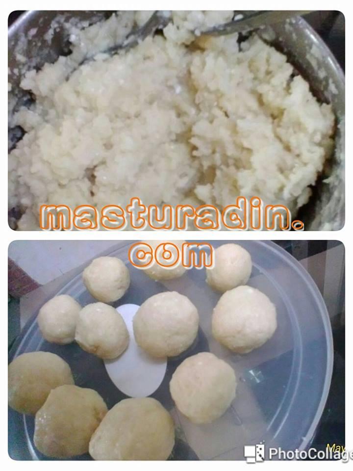 resepi cucur manis kembung, resepi mudah, tanpa telur, azlita masam manis,bahan-bahan, cara-cara