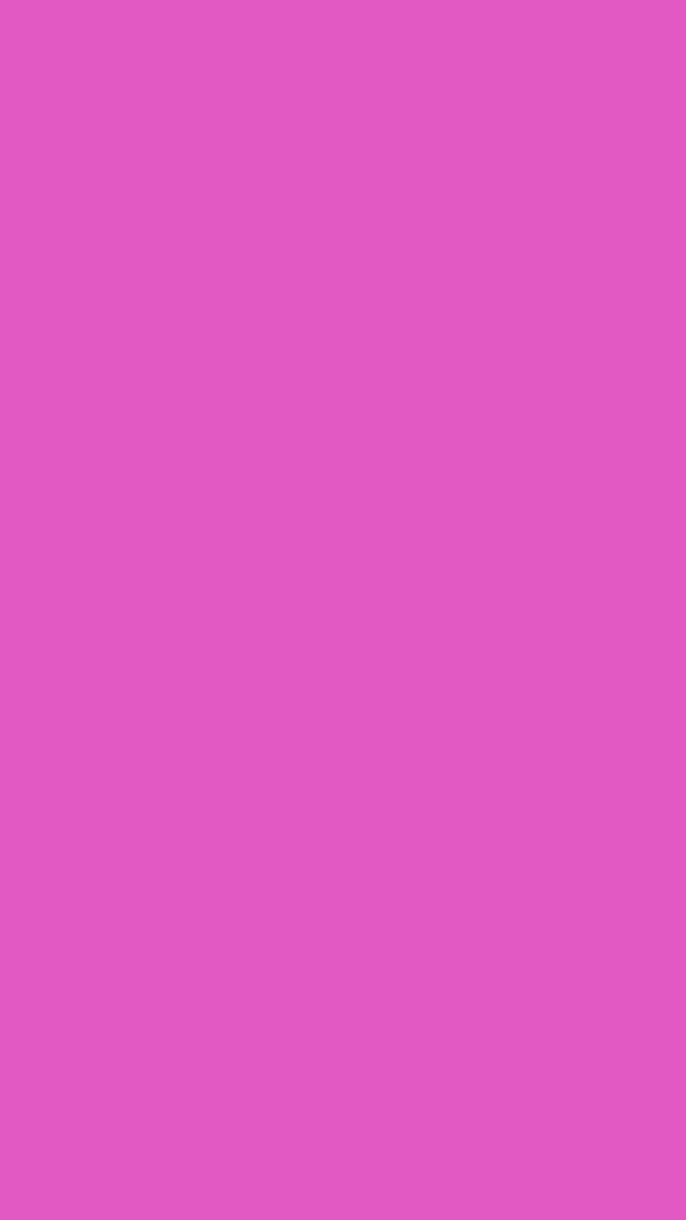Orchid Pink Wallpaper For IPhone Solid Color
