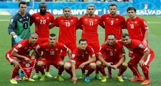 المجموعة الخامسة كأس العالم 2018 : موعد مباريات منتخب سويسرا وتشكيل الفريق