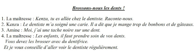 dialogue brossons nous les dents