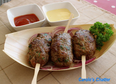 Carole's Chatter: Turkish Meatballs