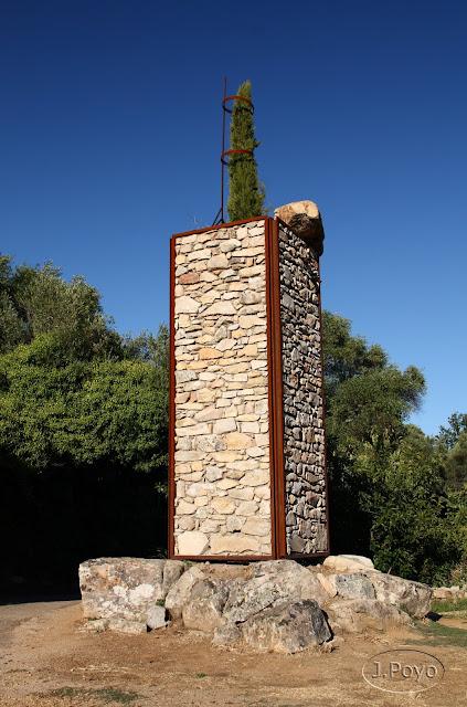 Escultura de la Ruta del camino del agua, Mogarraz