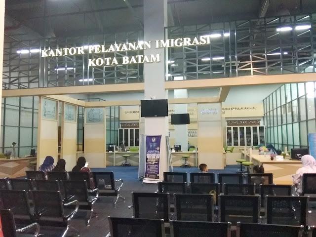 Gedung imigrasi Batam Centre