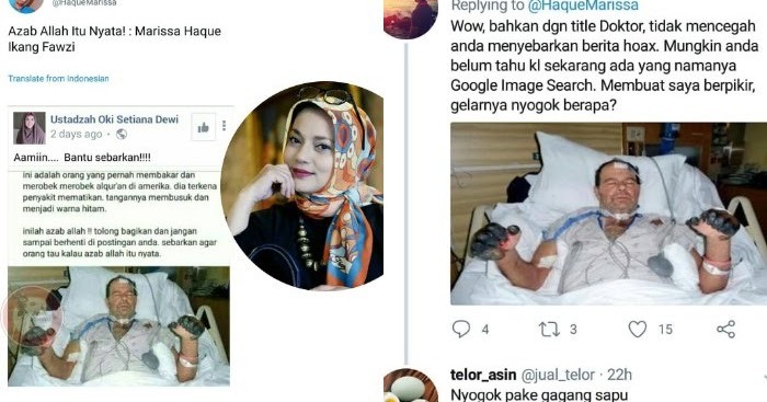Akun Twitter @HaqueMarissa Sebar Hoax, Gelar Doktor Wanita yang Sangat Anti Ahok ini Dipertanyakan Netizen....