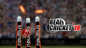 Real Cricket 2018 is Android game.