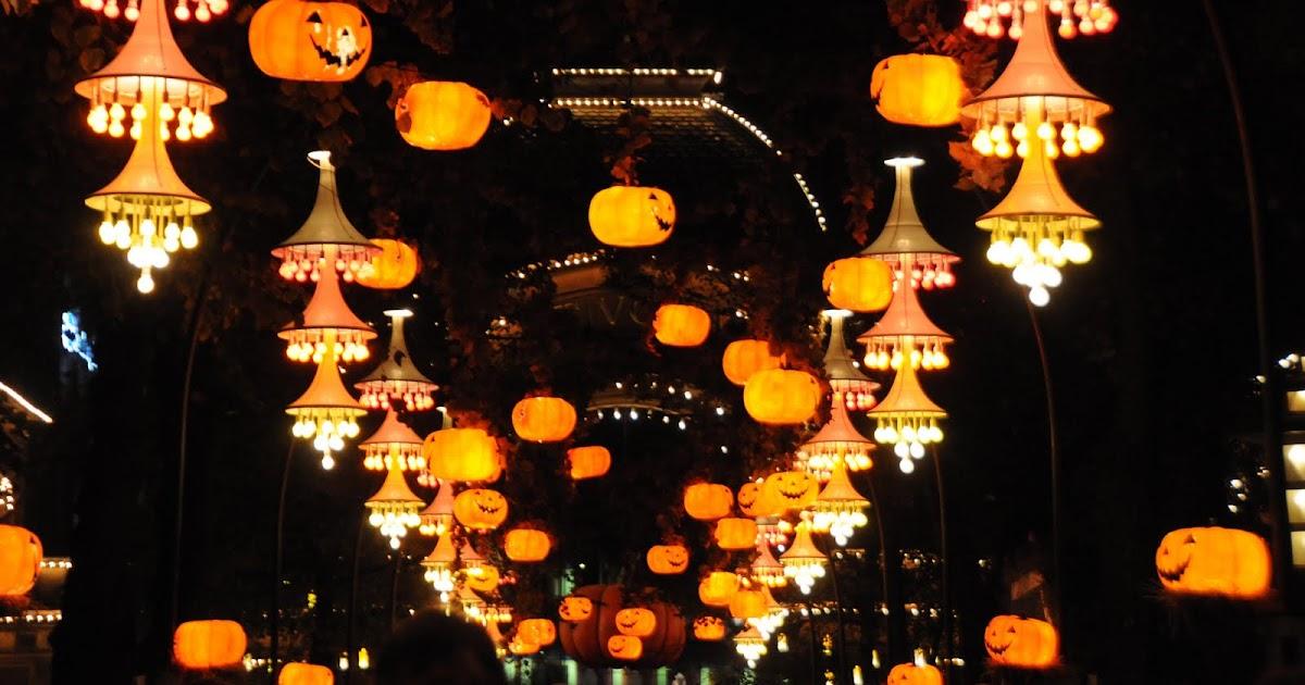 1210 2018 Tivoli Halloween The Garden Will Be Filled With Pumpkins