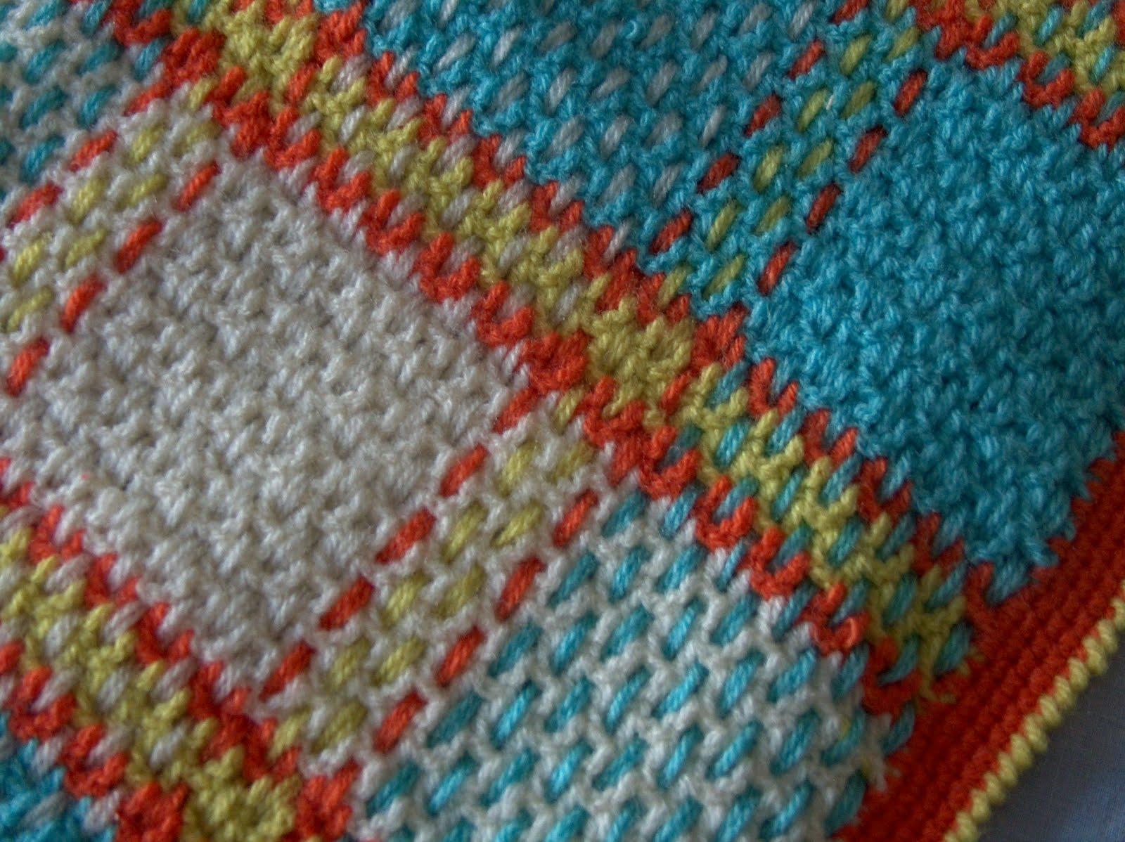 Hemamalena cositas mantas de ganchillo crocheted blankets - Mantas de ganchillo faciles ...