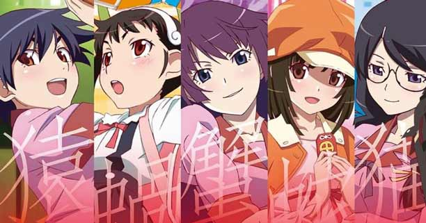 Anime Mystery Terbaik - Monogatari Series
