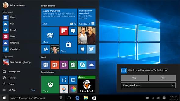 5 Keunggulan Windows 10 - Coretan Zull