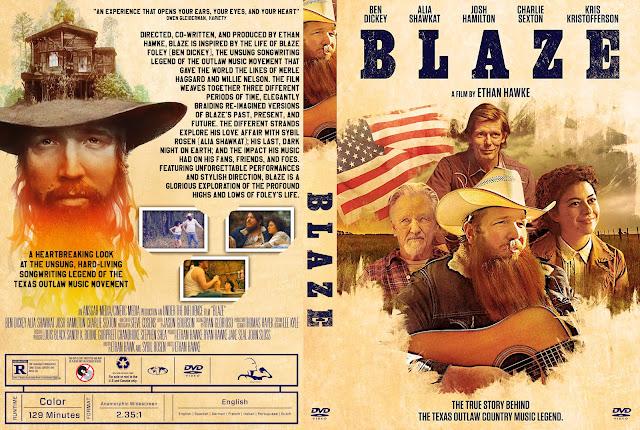 Blaze DVD Cover