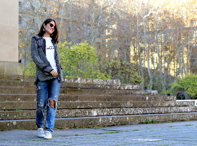 Toque formal para un look informal