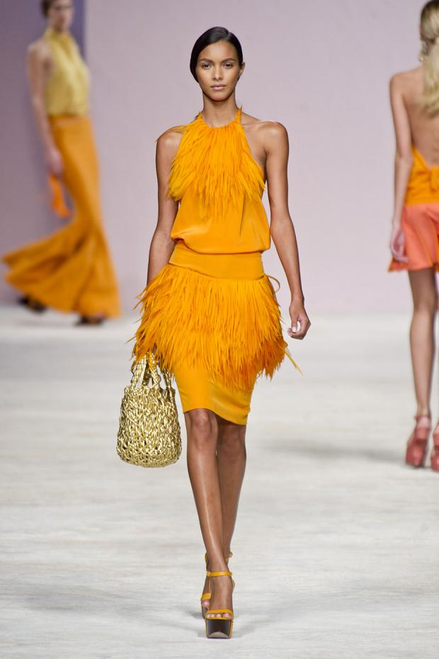 Runway Ermanno Scervino Spring Summer 2013 Cool Chic Style Fashion