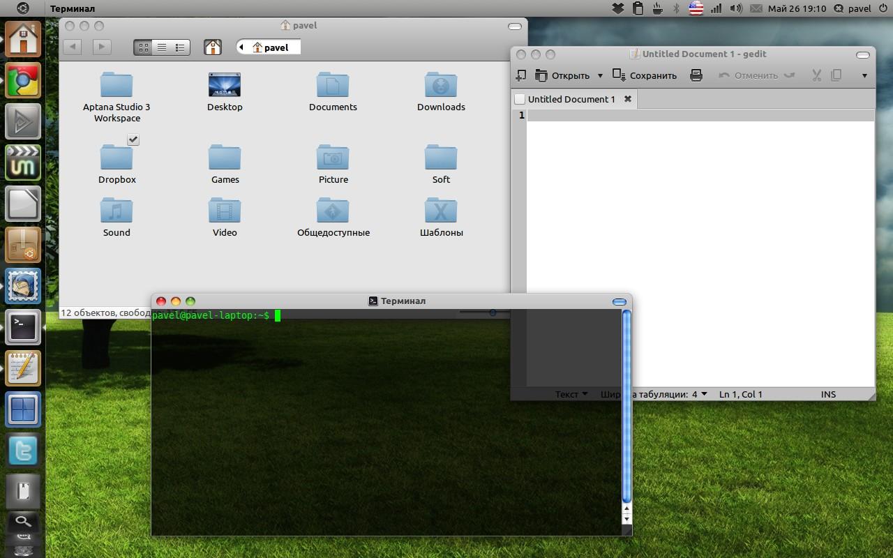 gekosMac (GTK Theme) - Make Ubuntu 11 04 Natty Narwhal Looks