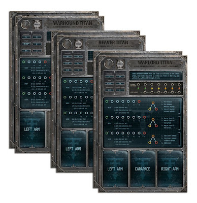 6 Titan Command Terminals