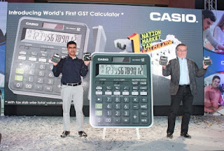 Casio launches world's first GST calculator