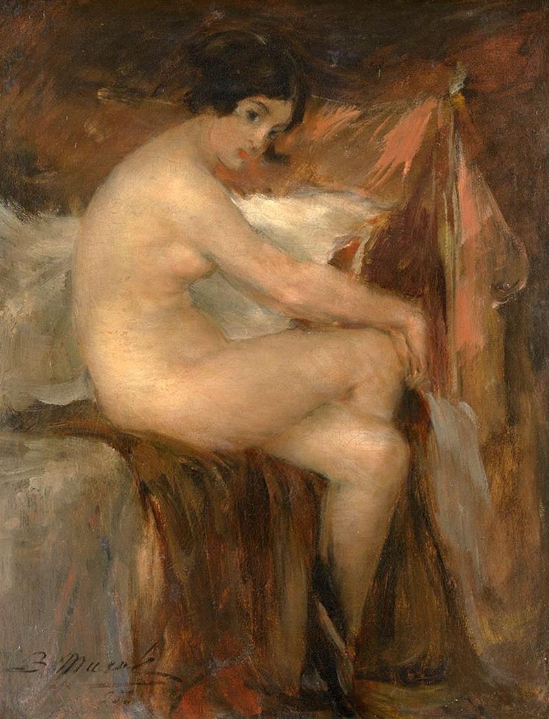 Vitaly-Gavrilovitch-Tikhov-1876-1939-Ukrainian-painter