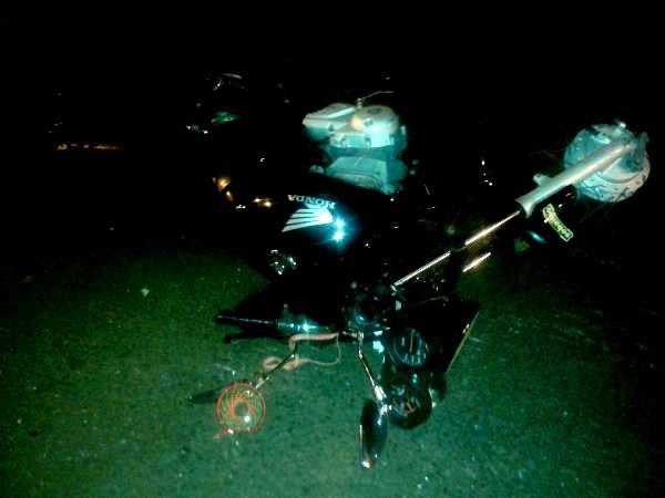 Moto atropela jovem senhora que vai a óbito em Iretama