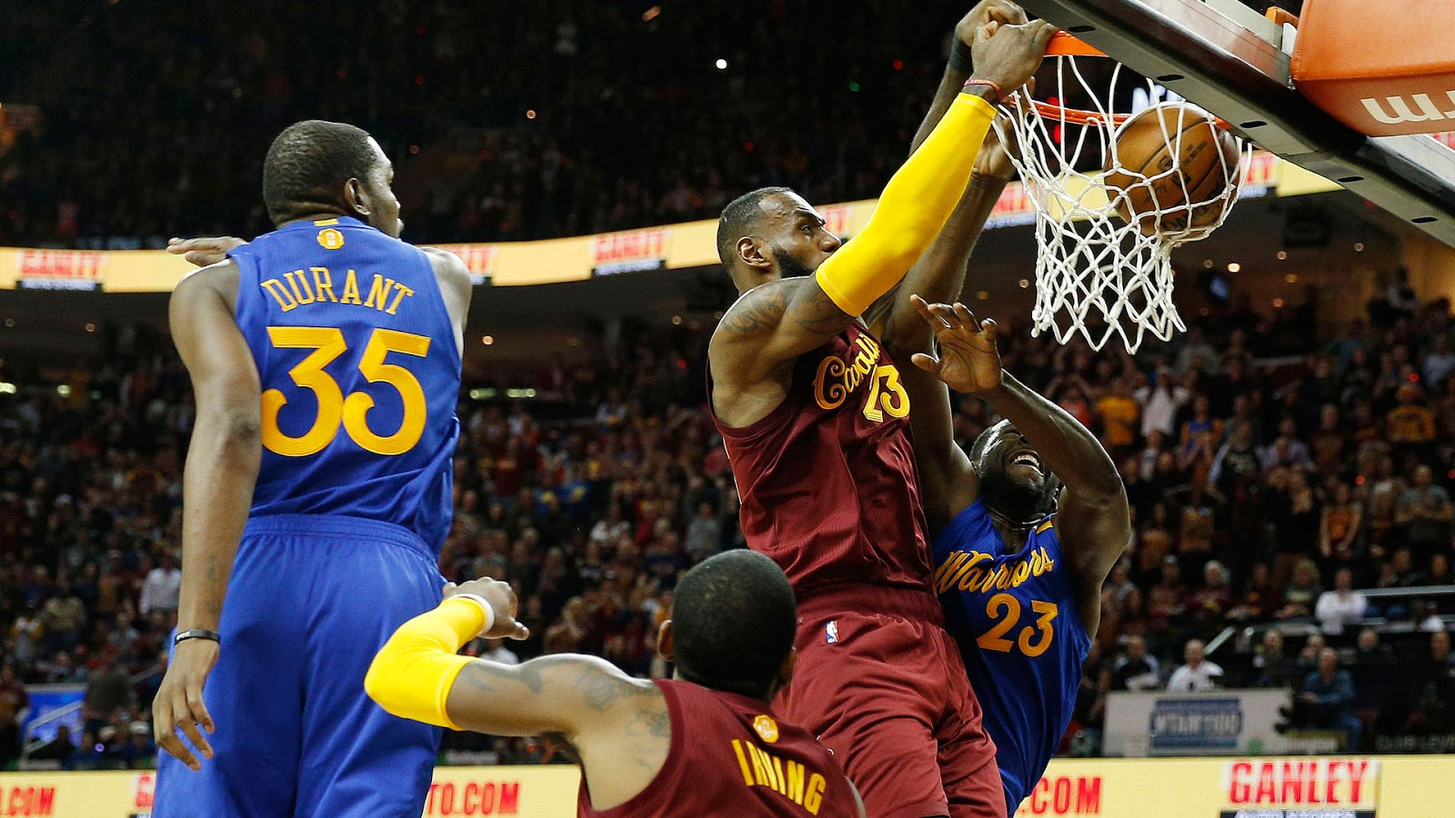 f0ada543e876 Draymond Green Weighs in on LeBron James vs Kevin Durant Best-Player ...