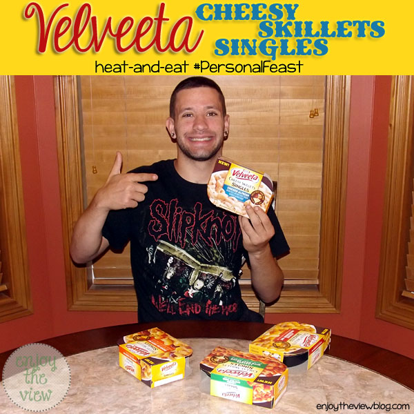 Velveeta Cheesy Skillets Singles | enjoytheviewblog.com #shop