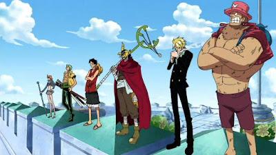 Luffy cùng băng mũ rơm giải cứu Nico Robin - quẩy nát Enies Lobby