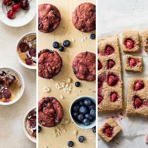 3 przepisy na zdrowe desery z owocami na drugie śniadanie lub podwieczorek