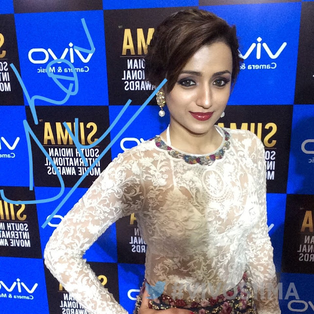 Actress Trisha at SIIMA Awards 2017 Day 2
