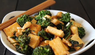 Tofu and Broccoli Stir Fry Recipe | Healthy Vegetable Recipe