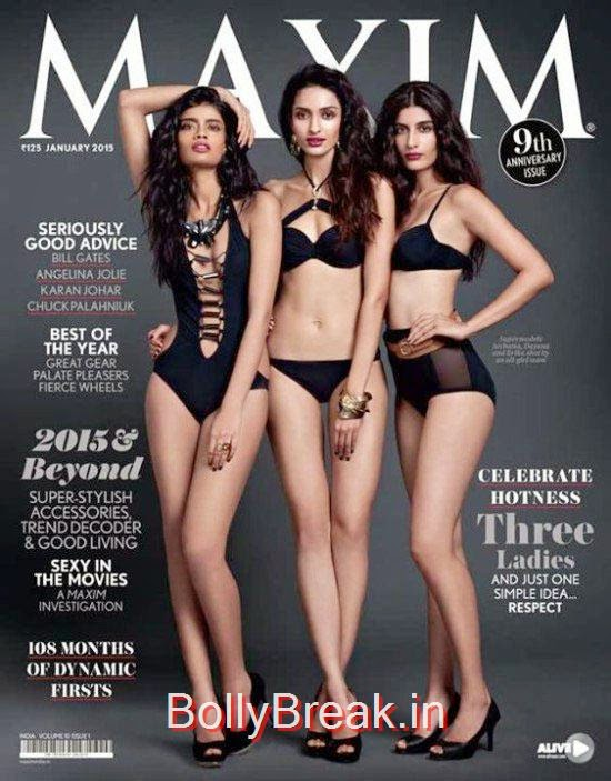 Archana Akhil Kumar, Dayana Erappa, Erika Packard, January Cover Girls Hot Pics
