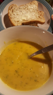 Home Made Soup and Bread