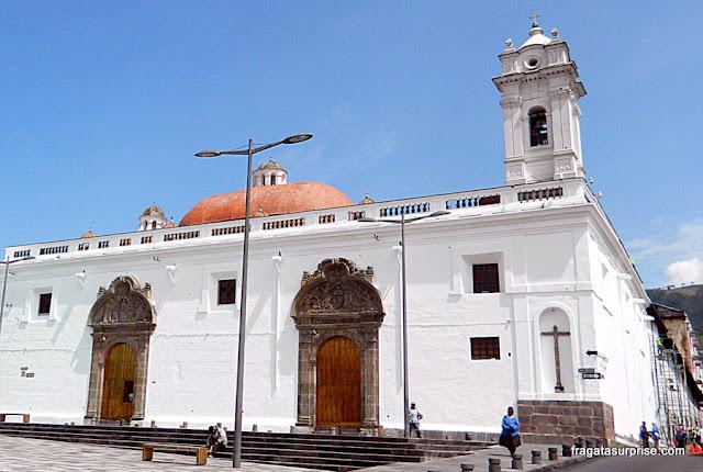 Convento de El Cármen Bajo, no Centro Histórico de Quito