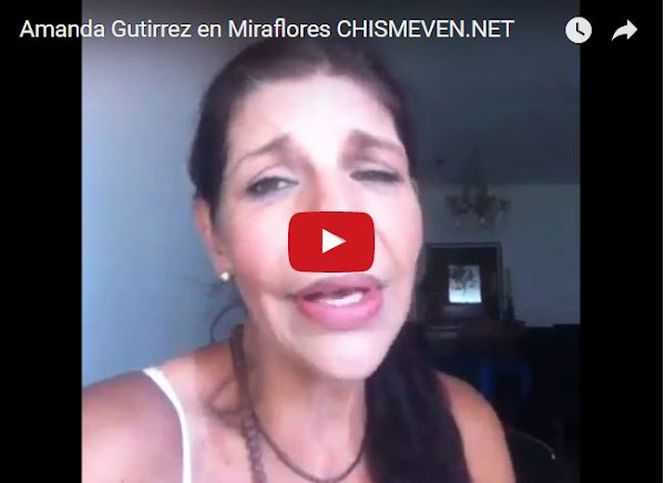 Amanda Gutierrez nos cuenta con sus palabras lo que sucedió en Miraflores