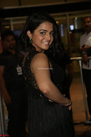 Wamiqa Gabbi in a sleeveless Black Designer Transparent Gown at 64th Jio Filmfare Awards South ~  Exclusive 114.JPG
