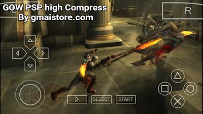 download God of War Ghost Of Sparta PSP high compress