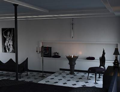Modern Gothic Bedroom