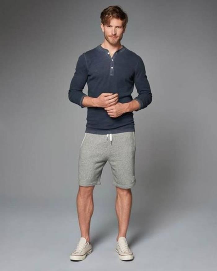 Short de moletom masculino para aproveitar a moda 2018