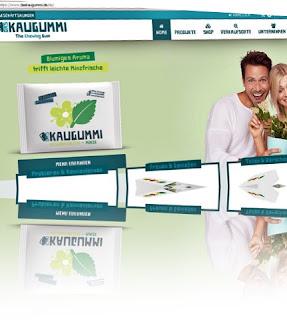 Das Kaugummi, ein Webshop für Kaugummis
