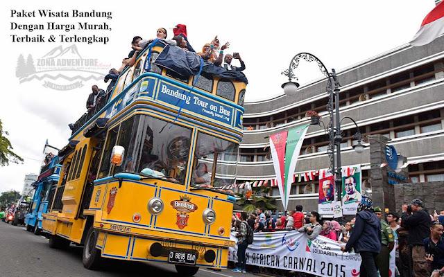 Paket Wisata Bandung Murah Terbaik dan Terlengkap 2017 - 2018 - Bandung Tour And Travel - Zona Adventure