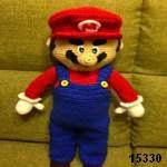 patron gratis Super Mario Bros amigurumi, free amigurumi pattern Super Mario Brosdoll