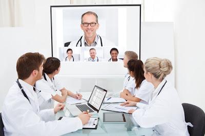 Giải pháp hội nghị truyền hình trong y tế