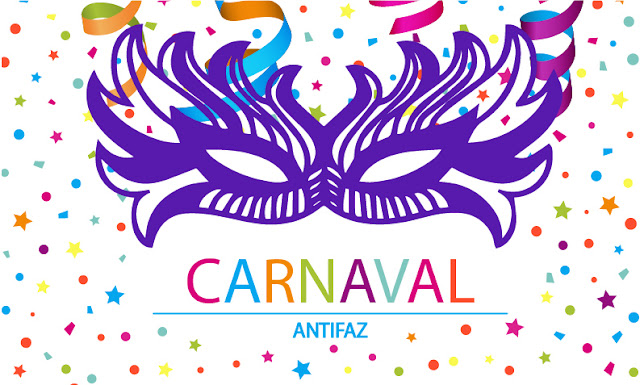 Antifaz de Carnaval.